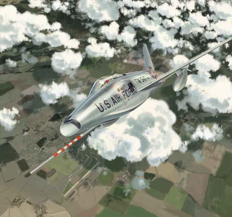 North American RF-100A Slick Chick