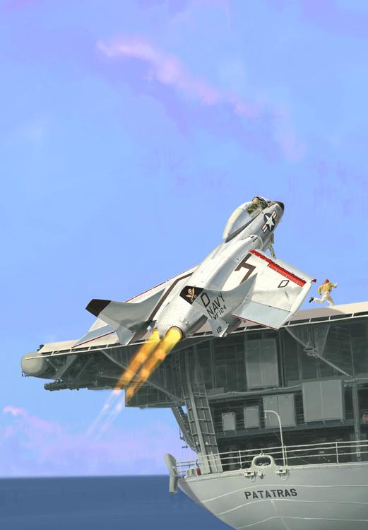 Chance Vought F7U-3 Cutlass