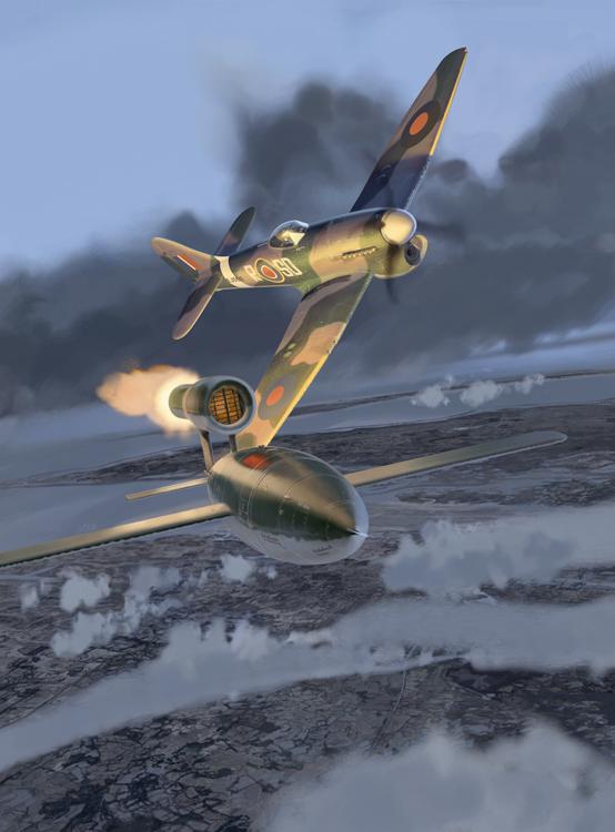 Hawker Tempest V / Fieseler 103 /V1